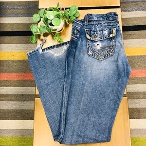 BKE Star Flare Jeans
